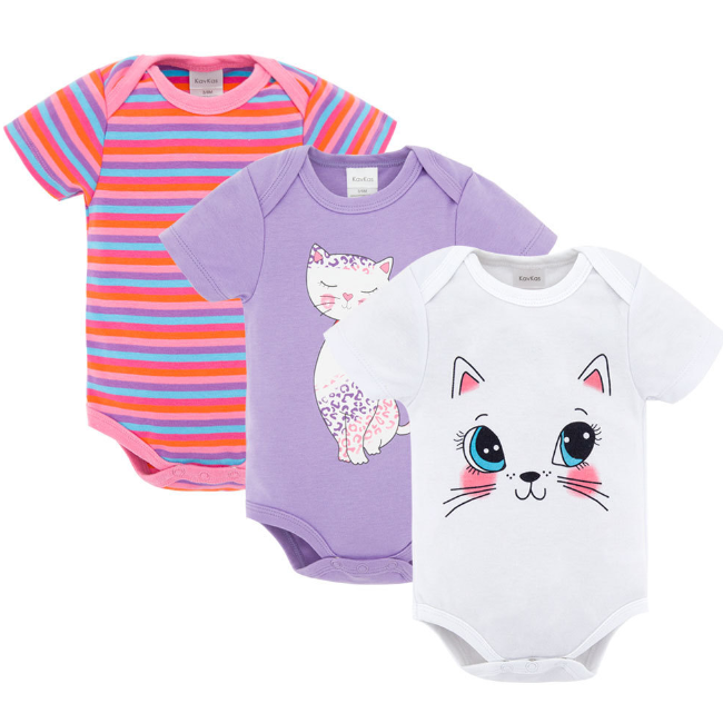 PHB50865 three pieces sets rompers infant wear baby clothes