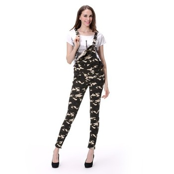 Buy skinny Camo Lady Trouser Women Pant On For Overalls Overalls Jeans Skinny Denim Pant Girl Product sexy Jean l1KcJTF