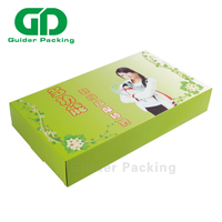 Custom logo printing folding corrugated packaging shipping mailer box mail with logo for ecommerce
