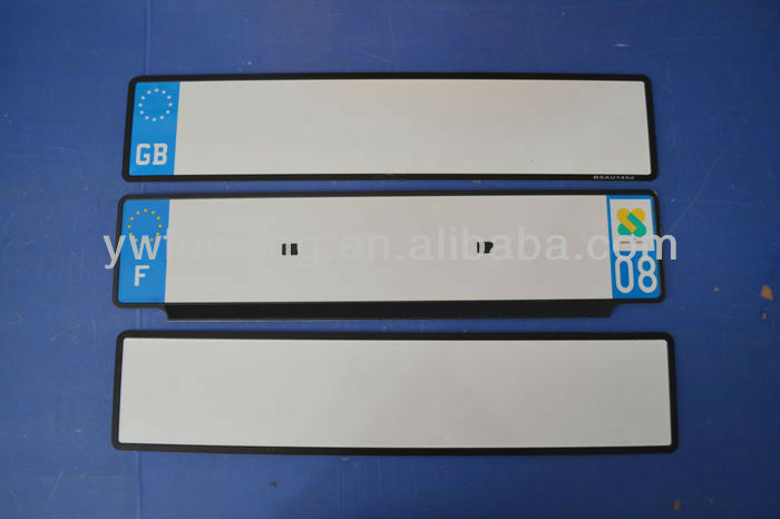 product gs license plate of european high security car registration