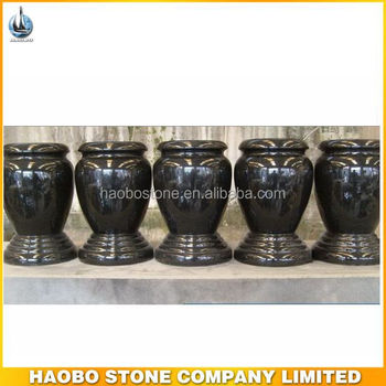 Granite Vases For Graves View Cemetery Vases Price For Tombstone