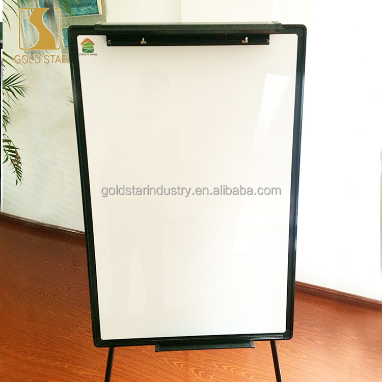 Aluminum Frame magnetic ceramic mobile whiteboard stand with low price