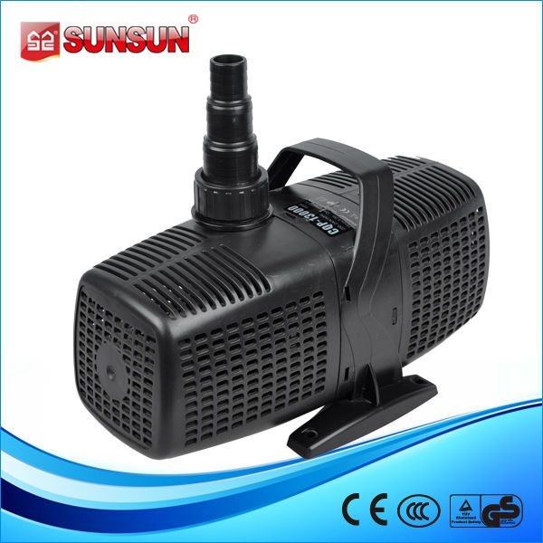 SUNSUN 180W 13000L/h CQP-13000 Submersible Koi Pond Pump Waterfall Garden New Amphibious Pump