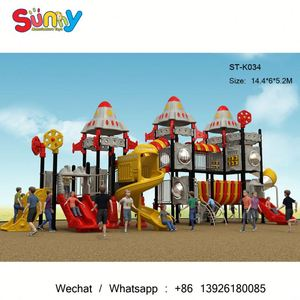Industrial outdoor children flying fox playground used school outdoor playground equipment for sale