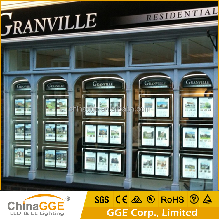 Led Illuminated Window Signs For Real Estate Agents Buy