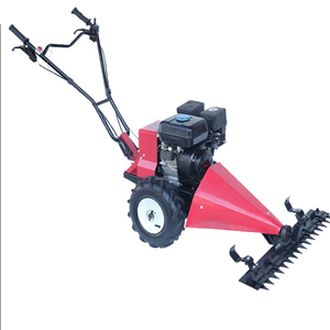 Hand handled walk behind sickle bar mower / gasoline engine hand push lawn  mower