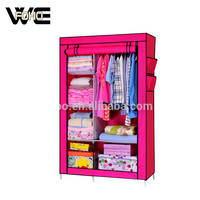 Fashion Portable Foldable Cupboard Wardrobe Set Designs