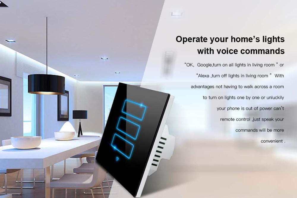 2017 Hot! LANBON Alexa,Google home Voice Control Compatible Smart ...