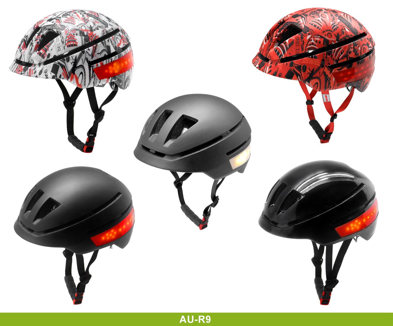 2019 newest LED electric urban bike helmets 15