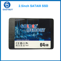 stock wholesale cheap 2.5inch SATA3 256MB Cache 64GB solid state hard drive 2017