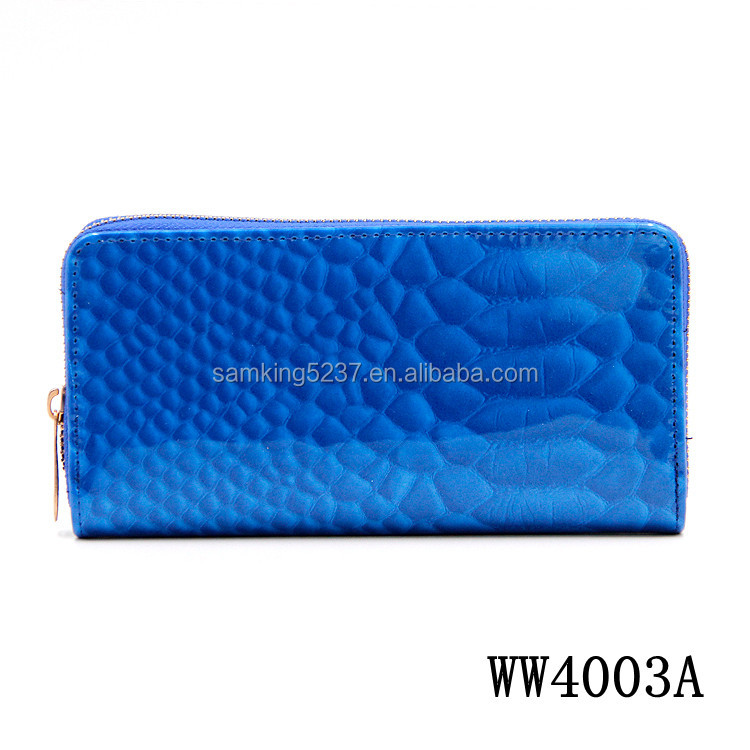 Fashion Leather Wallet Case Low MOQ Best PVC Hard Case Cheap Wallet India For Women