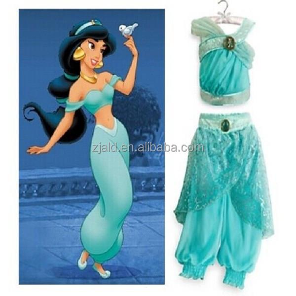 historia antigua adolescente aladdin princesa jasmine costume disfraces de la televisi n y el. Black Bedroom Furniture Sets. Home Design Ideas