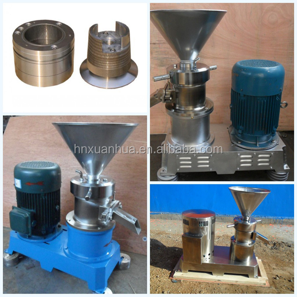 electric industrial cocoa nut butter butter making machine