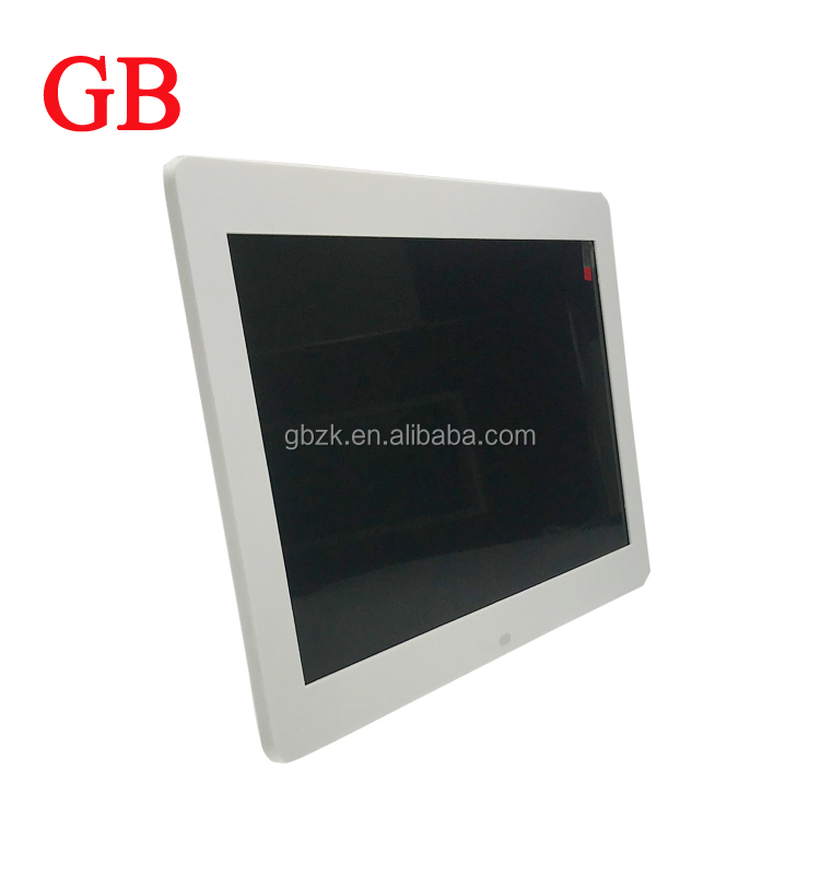Motion sensor activated 12 inch IPS screen LCD pos Video display in store /small video display screen / digital photo frame
