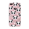 Patined panda pattern cute silicone case for iphone 6 6s 6 plus 6s plus 7 7 plus