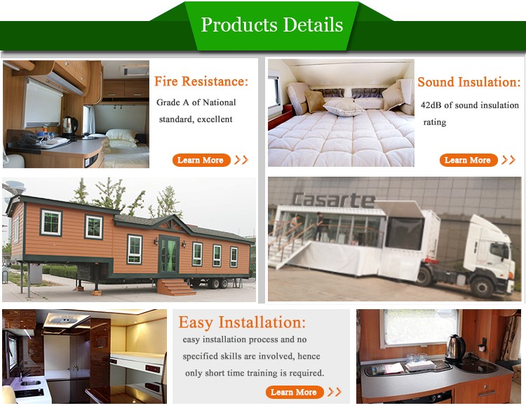 Top sale lightweight rv building materials