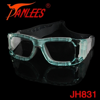 6a1a598c58 OEM Panlees Unisex PC Prescription Protective Basketball Sports Safety Goggles  Glasses Frame with Silicone Glasses Nose
