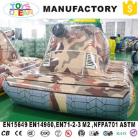 Outdoor Airtight Inflatable Tank Military Shooting Paintball Bunker