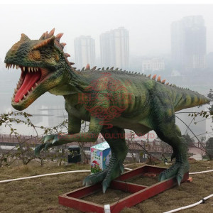 Cheap Outdoor Festival giant dinosaur christmas discount dinosaur amongst animatronic dinosaurs simulator waterproof handmade an