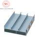 Anodized silvery white 6063-T5 aluminium profiles for sliding windows
