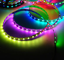 Dream color 1leds cut 12v smd5050 flexible remote control led led rope light