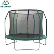 Mzone 8ft professional wholesale garden trampoline 244cm with safety net
