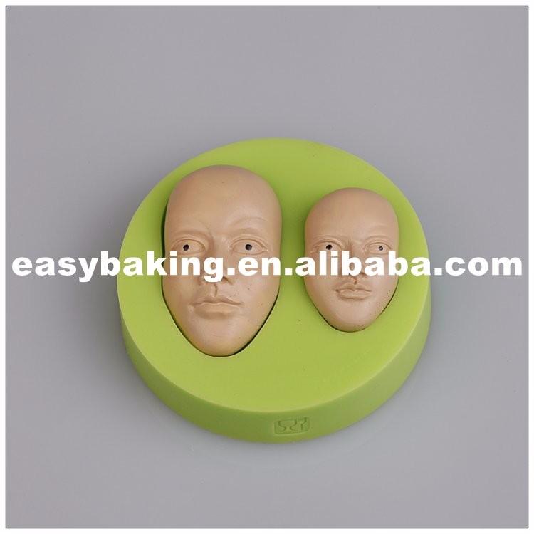 Men Face Silicone Soap Molds ES-8001