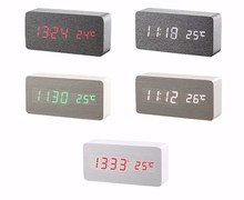 Fashional Wooden LED Alarm Digital Table Clocks