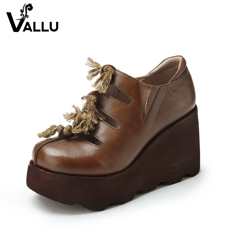 high china genuine platform fringe leather alibaba wedges new heel shoes pumps design women pU6wxWRq