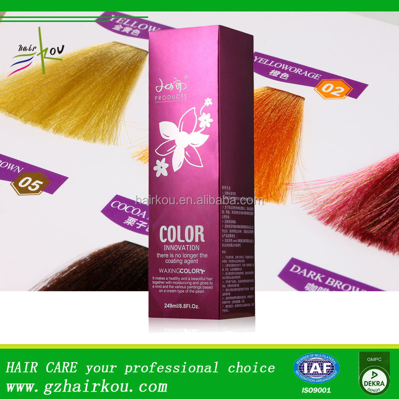Shining Temporary Hair Dye,No ammonia No peroxide Hair Manicure