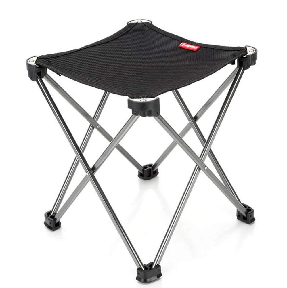 Portable Folding Chair Outdoor Folding Stool Chair,Portable Collapsible Camping Stool,Ultralight Oxford Cloth Four-Legged Stool with Carrying Bag, for Hiking Walking Fishing Outdoors Rest Furniture,3