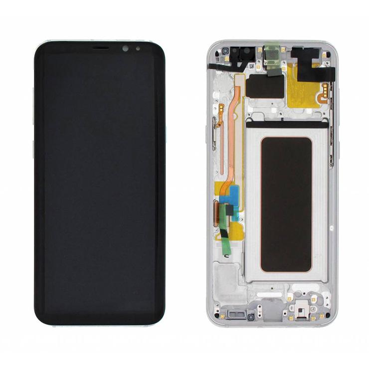 Samsung Galaxy S8 LCD Pantalla Táctil Digitalizador Pantalla Conjunto Repuesto OEM