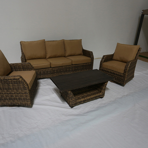 Bamboo Round Sectional French Sectional Sofa