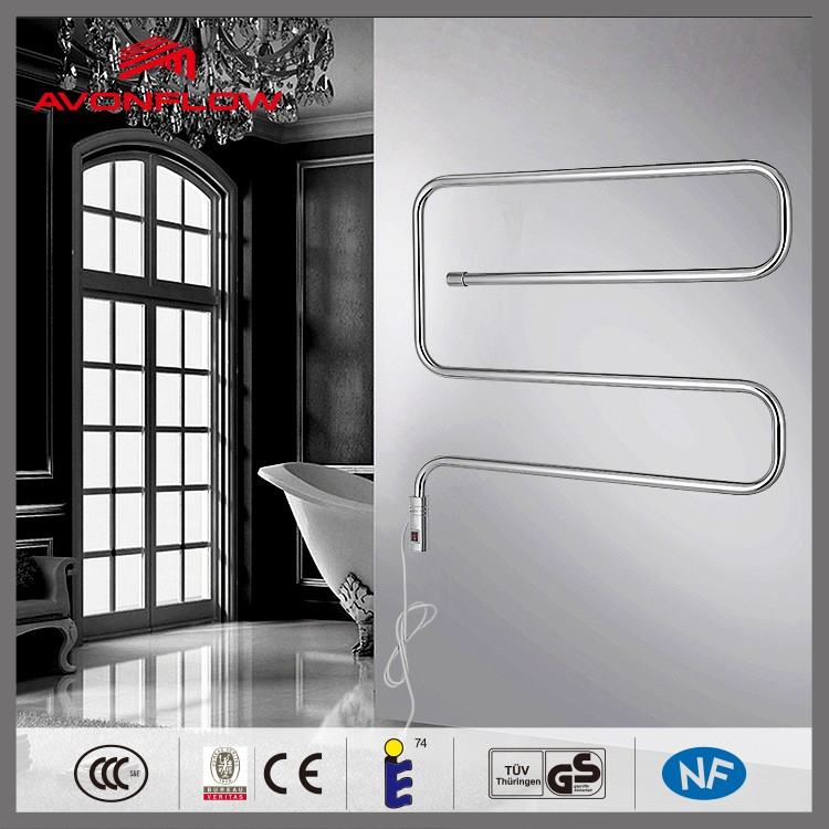 AVONFLOW Electroplate Electric Heated Towel Rail