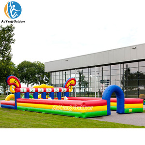 Jungle Inflatable Derby Horse Race Track Running Pony Hops for Sale