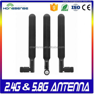 360 degree rotation 2.4g 5g 5.8g paddles flat antenna High quality 2.4g /5.8g wlan router antenna