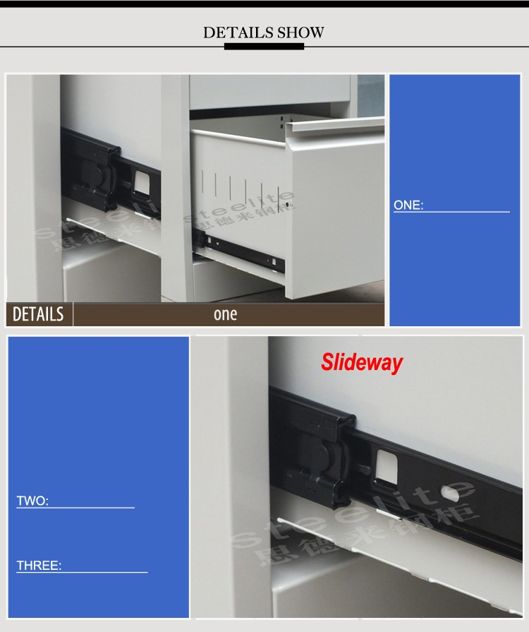 lockable shallow 2 tier storage steel godrej cupboard horizontal 2 drawer boxes wall mounted storage