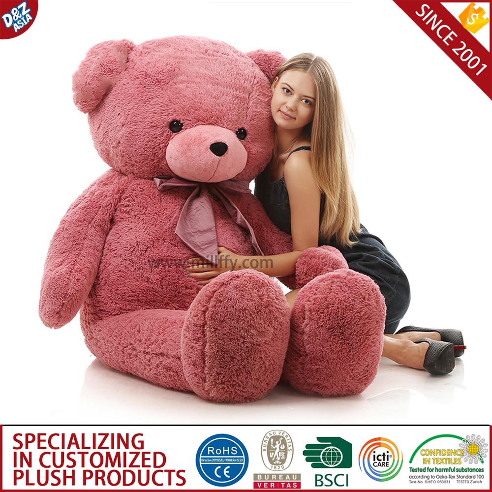 Grote Knuffelbeer 2 Meter.2 Meter Teddybeer 200cm Porselein Knuffel