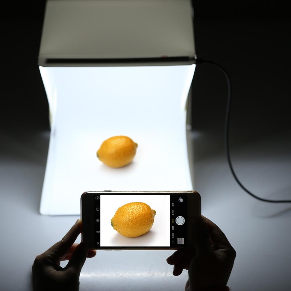 Portable Folding Lightbox Photography LED Light Room Photo Studio Light Tent Soft Box