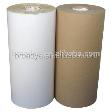 China factory small MOQ tube release liner kraft paper Jumbo Roll