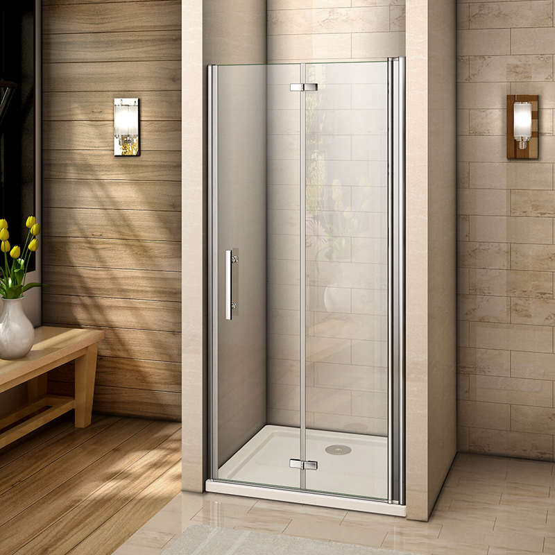 Fantastic Safty Glass Frameless Bi Fold Glass Door Used In Wet Room Water Proof Smart Bathroom Vanity Pivot Shower Screen Buy Frameless Shower Door Bi Fold Home Interior And Landscaping Eliaenasavecom