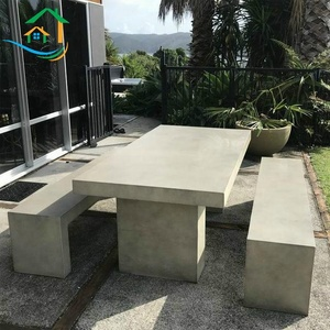 Cement outdoor balcony tables