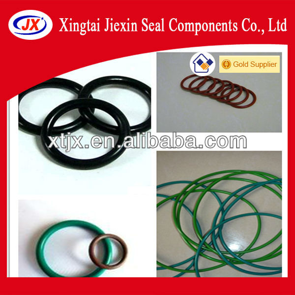 Different type of high desity rubber o ring