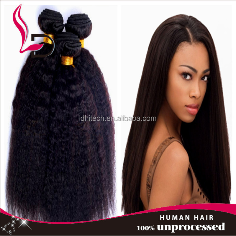 wholesale remy cheap and high quality yaki straight weave extensions virgin 100 human hair