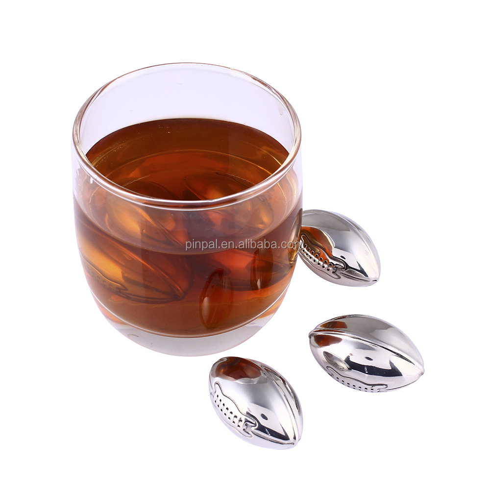 Rugby Shape Whiskey Chilling Stones Cooling Ice Cubes