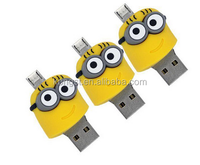 wholesale high quality two sites otg usb flash drives for phone and computer