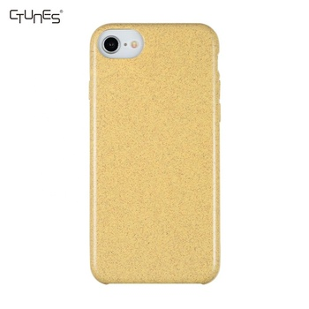 Hot Selling Anti-shock Environmentally Biodegradable Compostable Wheat Straw Mobile Phone Case For iPhone X XS