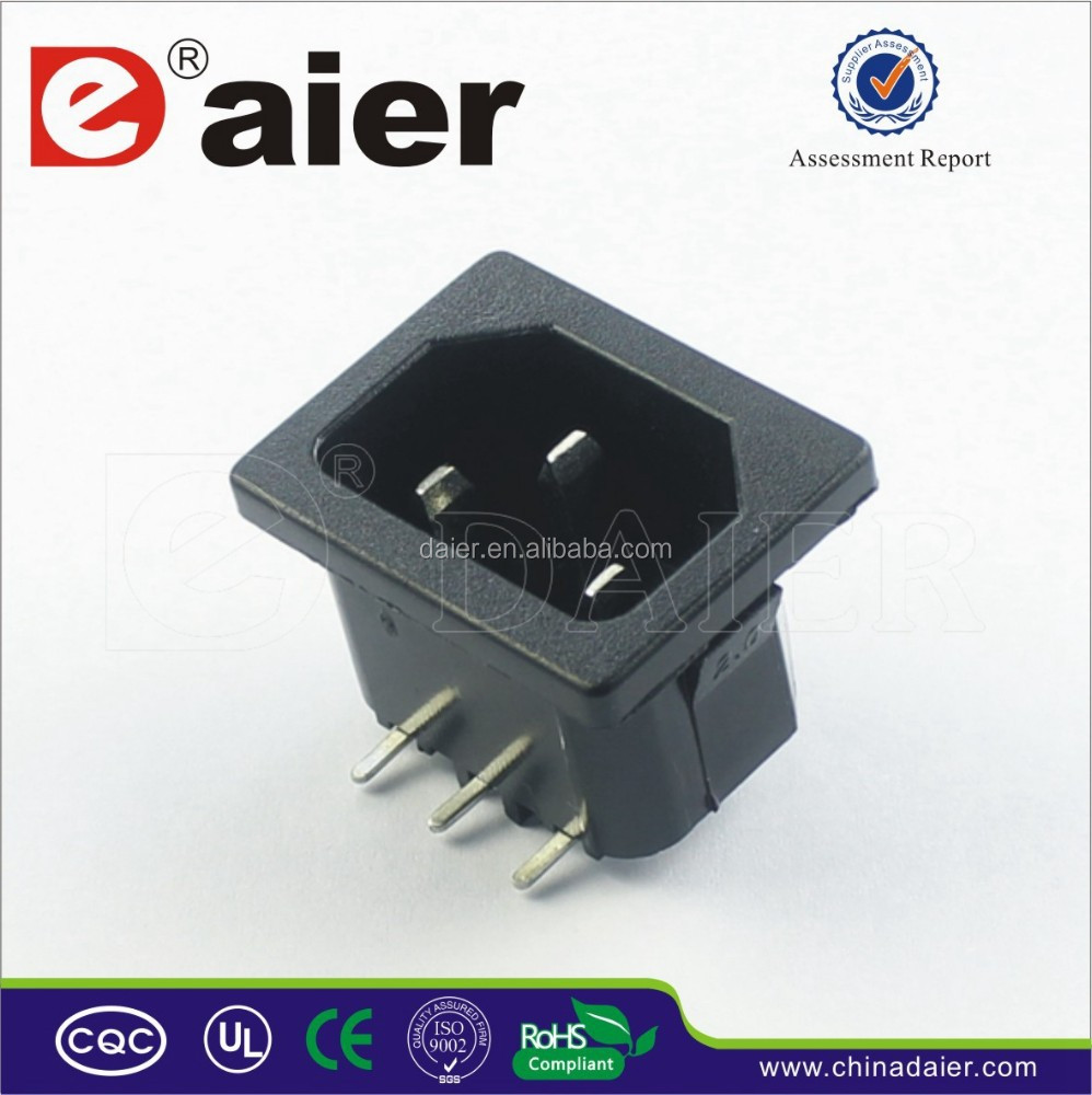DB-14B 16 amps industrial socket