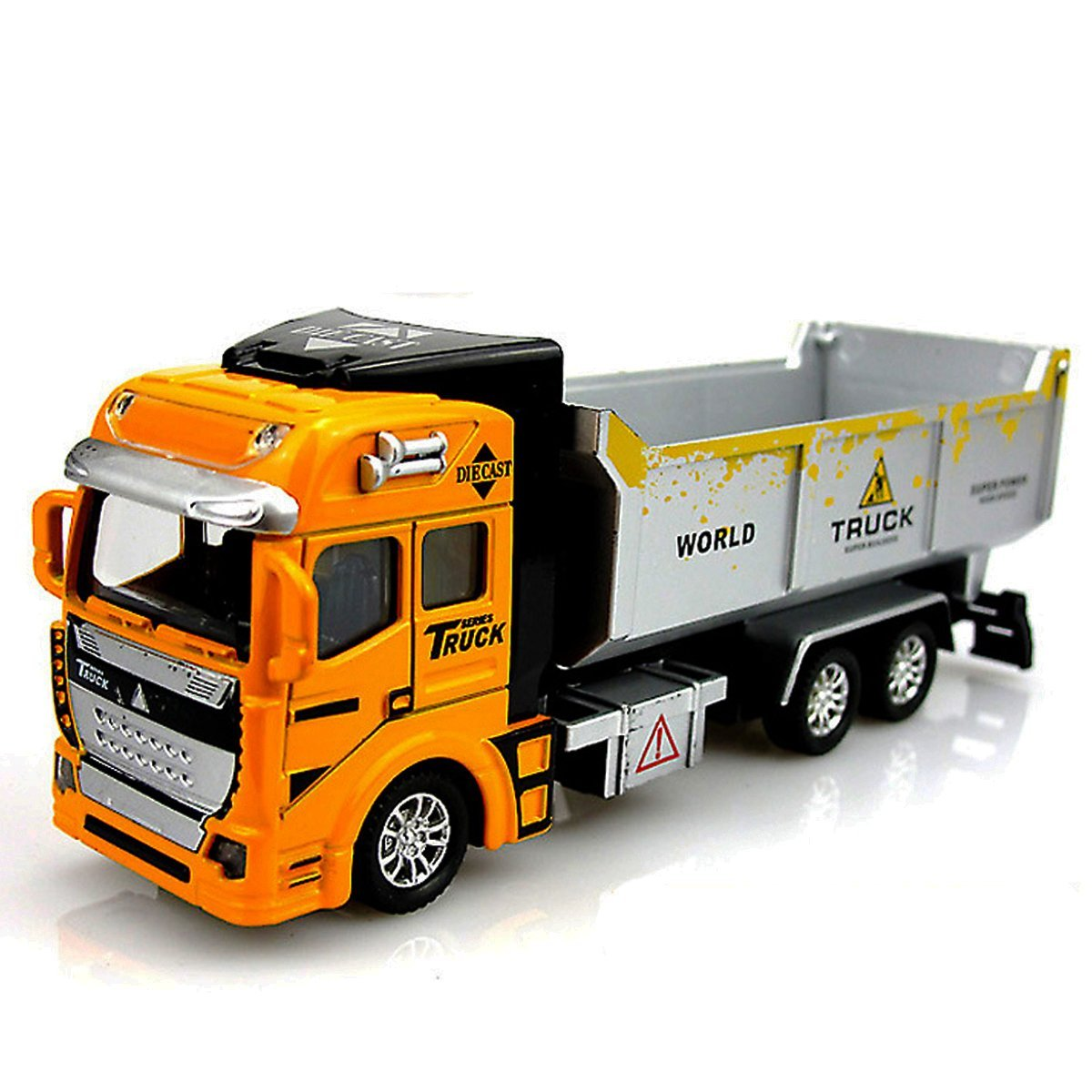 WITERY 1:48 Pull Back Car Truck Tractor Dumpers Model Toys - Construction Vehicle Toy Die Cast Model - for Boys Girls Kids as Christmas Day Gift,Birthday Gift,Children's Day Gift