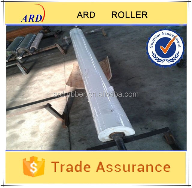 Standard heat-resisting rubber roller applied to paper carving machine